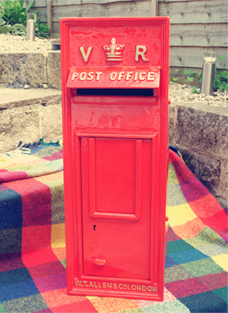Postbox-Red - Postbox For My Wedding