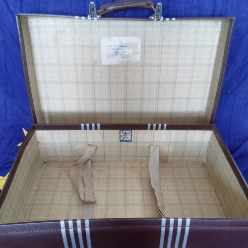 Retro Suitcase for Wedding postbox