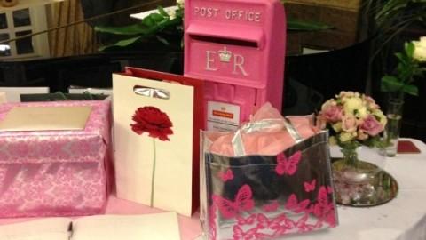 pink postbox