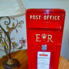 Red Wedding postbox
